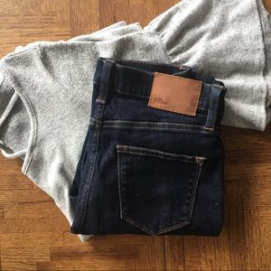 J. Crew Lookout high rise skinny jeans